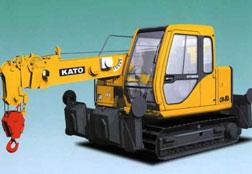 Xe cẩu Kato bánh xích 8 tấn