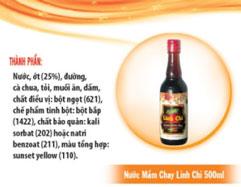 Nước mắm chay Linh Chi 500 ml