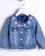 áo jean bé gái