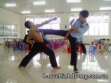 Luyện tập võ thuật