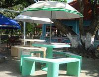 Bàn ghế dù