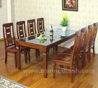 Bộ bàn ăn gỗ