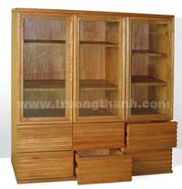 Tủ sách gỗ
