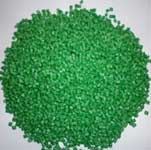 Hạt nhựa màu xanh lá