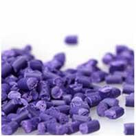 Hạt nhựa màu tím