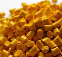 Hạt nhựa vàng