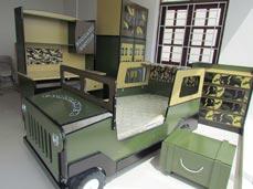Phòng ngủ lính đặc công
