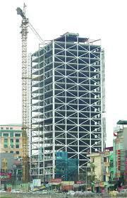 Kết cấu thép nhà cao tầng