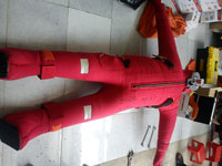 Kiểm tra quần áo chống mất nhiệt hóa chất
