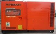 Cho thuê máy nén khí  airman 75kw