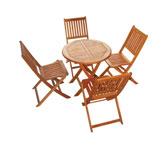 Bộ bàn ghế cafe vườn