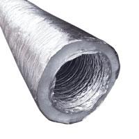 ống gió mềm có bảo ôn bông polyester