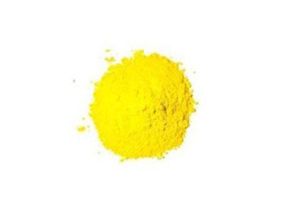 Bột màu vàng tranh