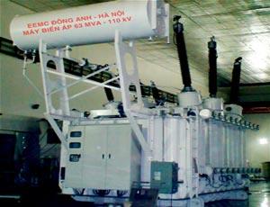 Máy biến áp truyền tải 110KV