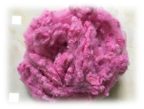 Xơ Polyester SD hồng