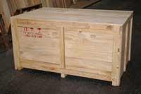Thùng gỗ thiết bị máy