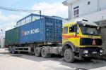 Đầu kéo container đi nội thành