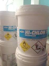 Ca(OCL)2- Calcium hypochlodride