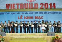 Tưng bừng khai mạc triển lãm VIETBUILD Hà NộI tháng 3.2014