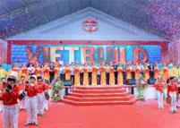 Lễ khai mạc triển lãm quốc tê VIETBUILD tháng 6.2013 tại trung tâm hội chợ và triển lãm Sài Gòn SECC