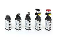 5port pilot type mechanical valve