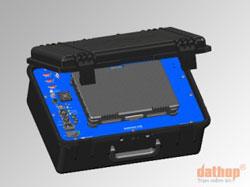 Máy đo sâu đơn tia một tần số echotrac CVM