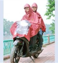 áo mưa 2 mũ K9