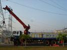 Cẩu thùng 11 tấn ASIA