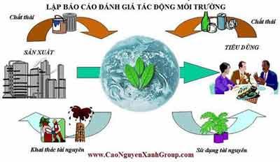 Báo cáo đánh giá tác động môi trường ĐTM