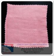 Vải Vân điểm màu hồng