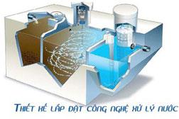Thiết kế lắp đặt công nghệ xử lý nước