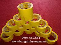 Băng dính OPP màu vàng