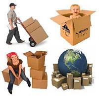 Vận chuyển quốc tế - đóng gói hàng hóa