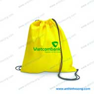 Túi vải dây rút Vietcombank