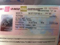 Dịch vụ visa