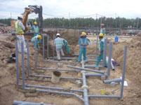 Xây dựng đường ống PCCC