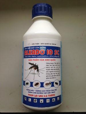 Thuốc diệt côn trùng Alkado 10SC
