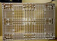Pallet nhựa 1100x130x150mm