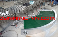 Băng tải PVC cong