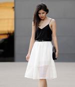 Váy xếp ly thời trang