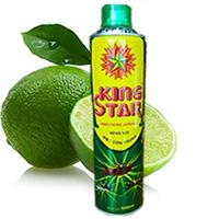 Bình xịt diệt côn trùng Kingstar 600ml xanh (hương chanh)