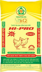 Thức ăn cho Gà GCN510