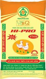 Thức ăn cho Vịt - Ngan VT410