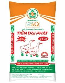 Thức ăn cho Vịt - Ngan VT02