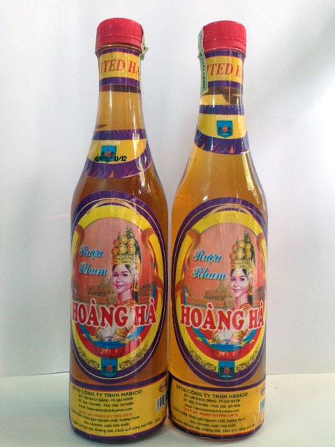 Rượu Rhum Hoàng Hà