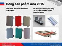 Dòng sản phẩm mới 2015