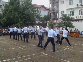 Hoạt động huấn luyện bảo vệ vệ sỹ