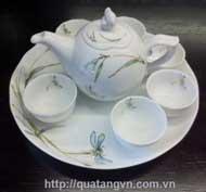 Bộ trà Mẫu Đơn - Sen
