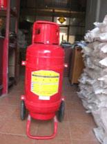 Bình chữa cháy có xe đẩy