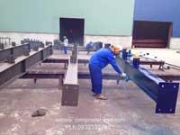 Phun composite cho khung nhà xưởng
